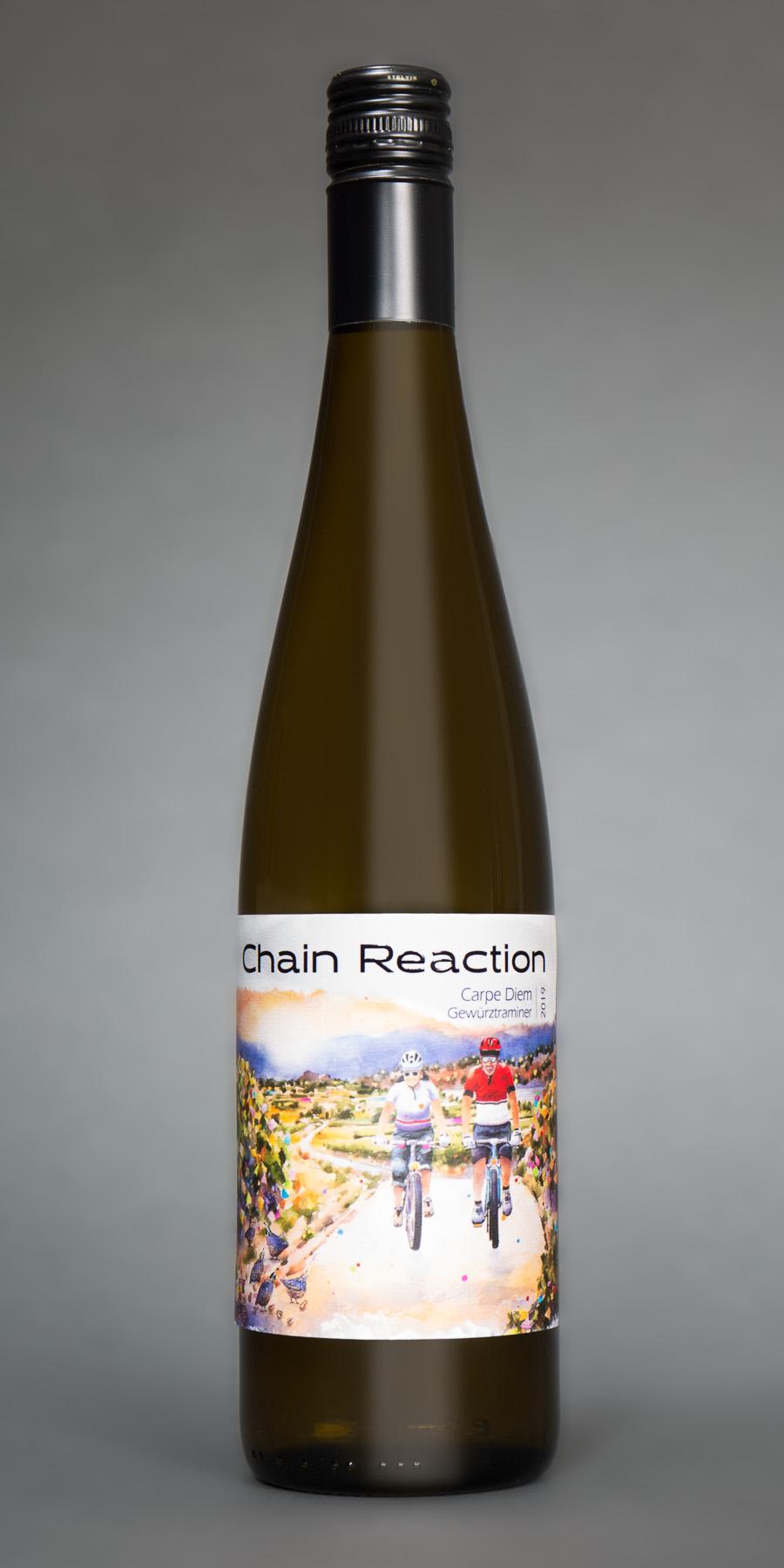 chain reaction gewurztraminer bottle