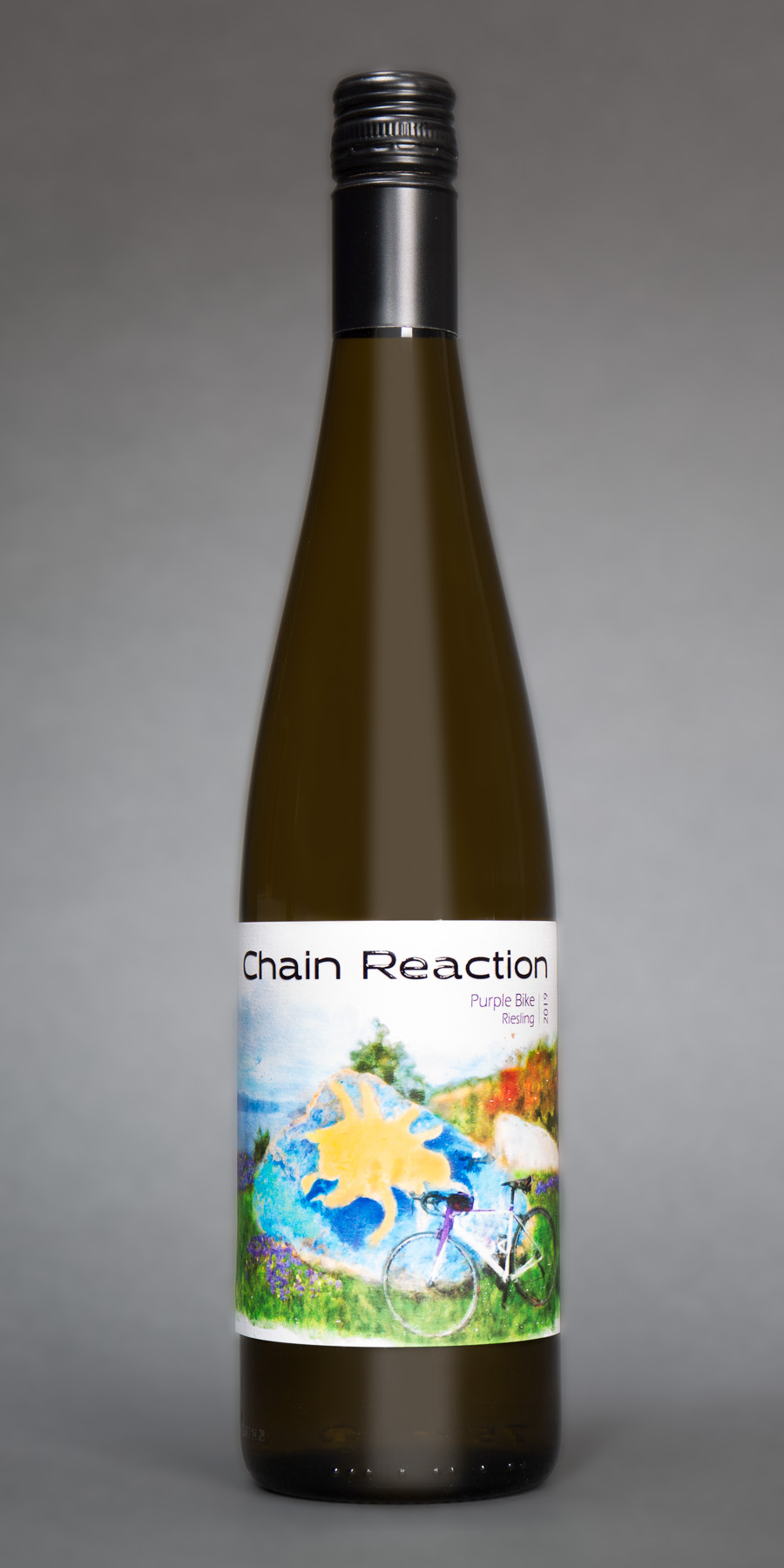chain reaction riesling bottle
