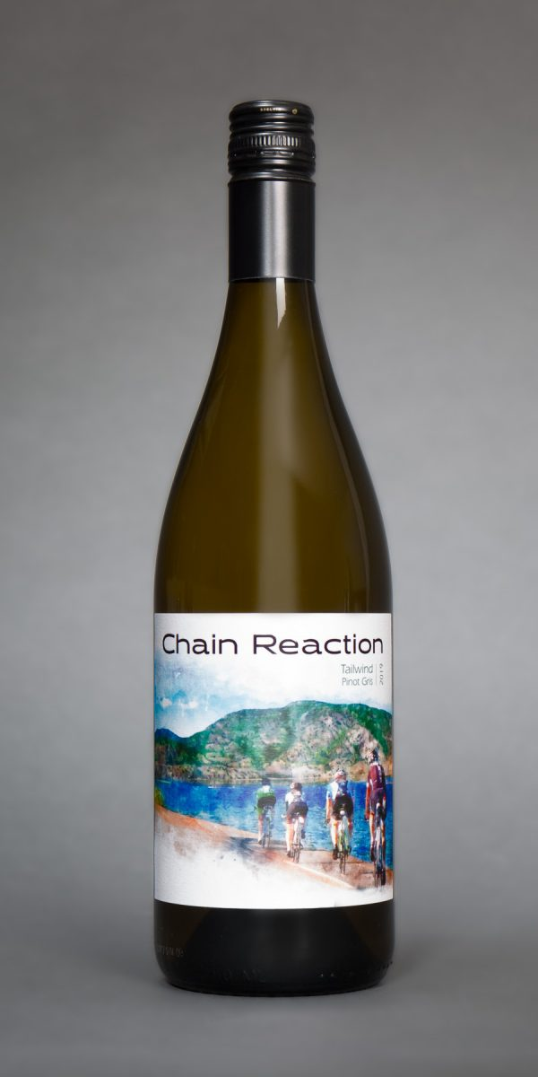 chain reaction pinot gris bottle
