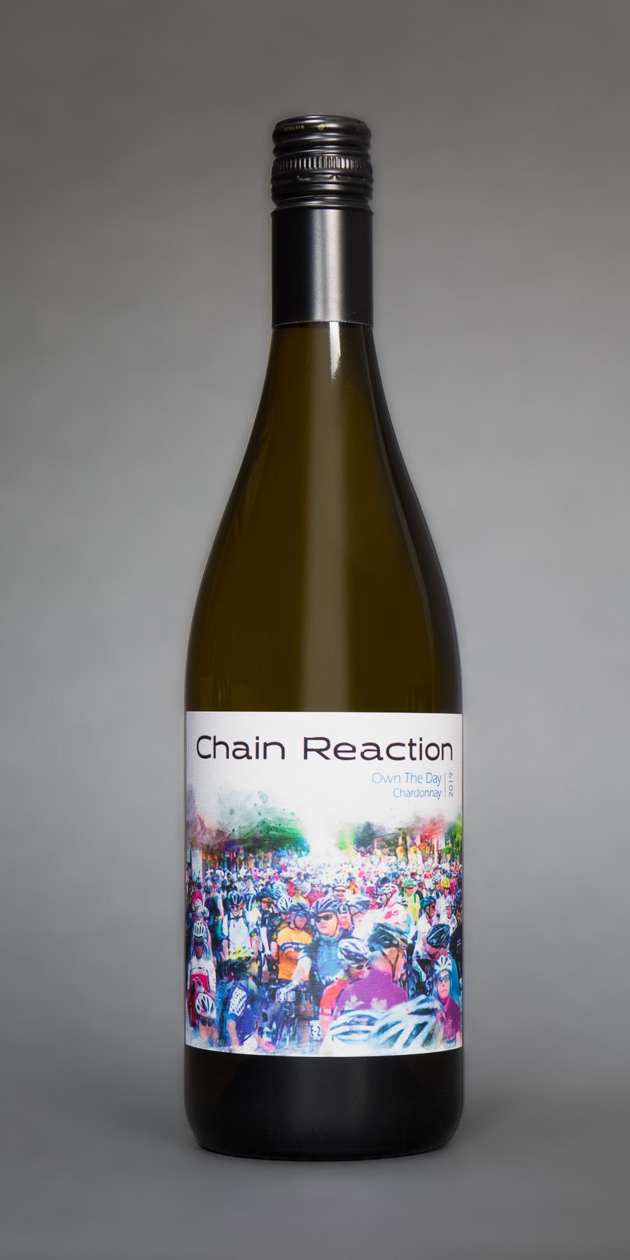 chain reaction chardonnay bottle